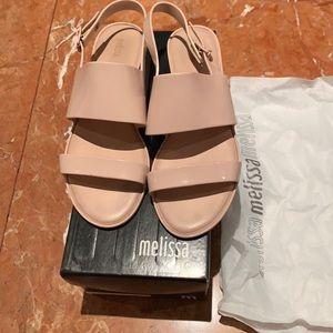 Melissa Super comfortable flat open sandals